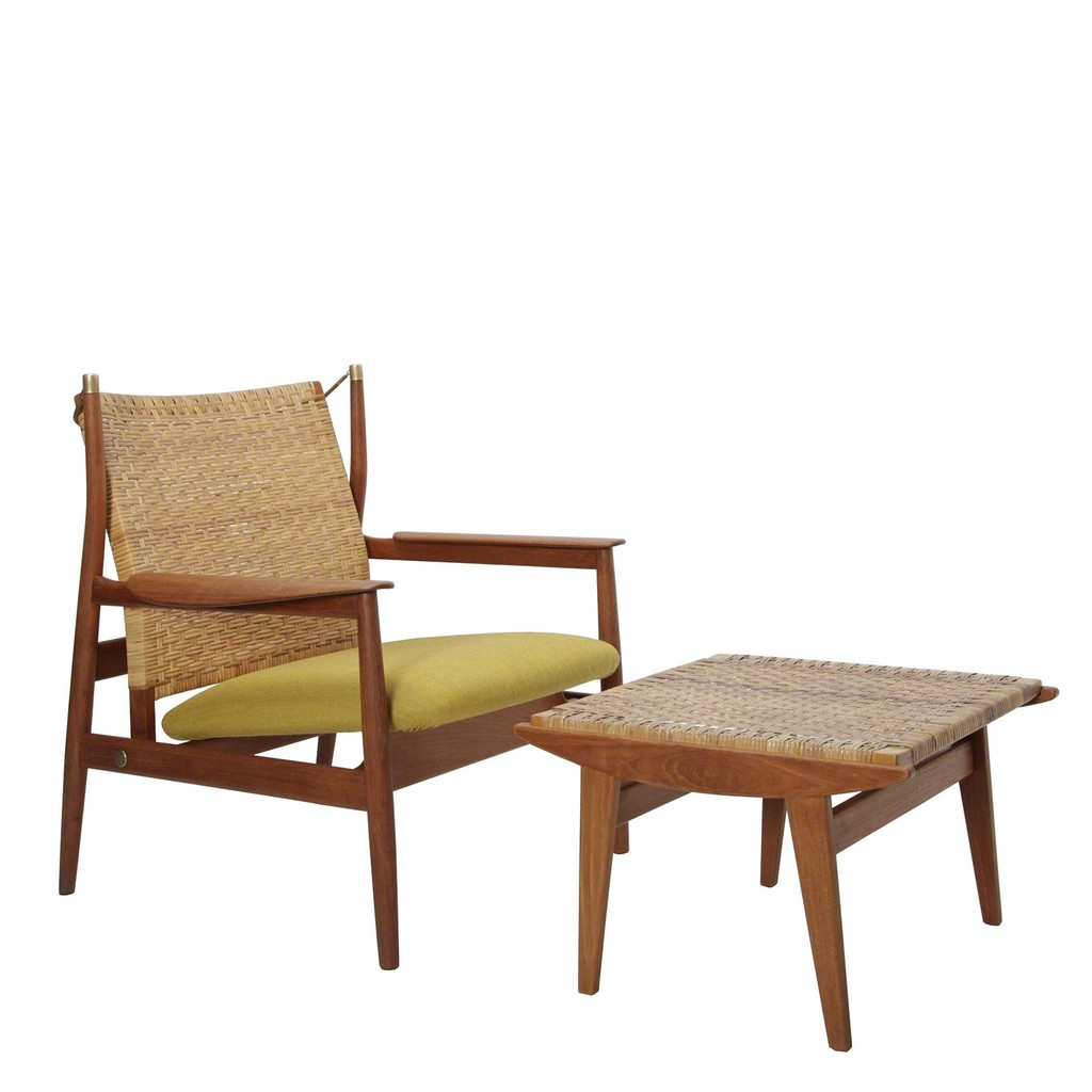 Finn Juhl u0027Easy chair with stoolu0027 1955 Dansk Møbelkunst Gallery  sc 1 st  Artsy & Finn Juhl | Easy chair with stool (1955) | Artsy islam-shia.org