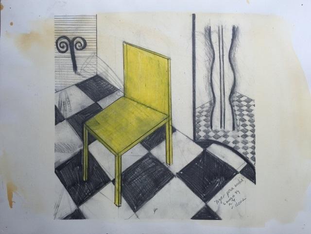 Ramiro Llona, 'Lugar para Nadie', 1994, Galleria Ca' d'Oro