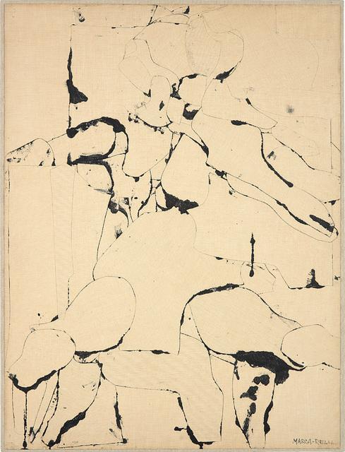 Conrad Marca-Relli, 'Untitled (Nude Woman)', 1953-1954, Phillips