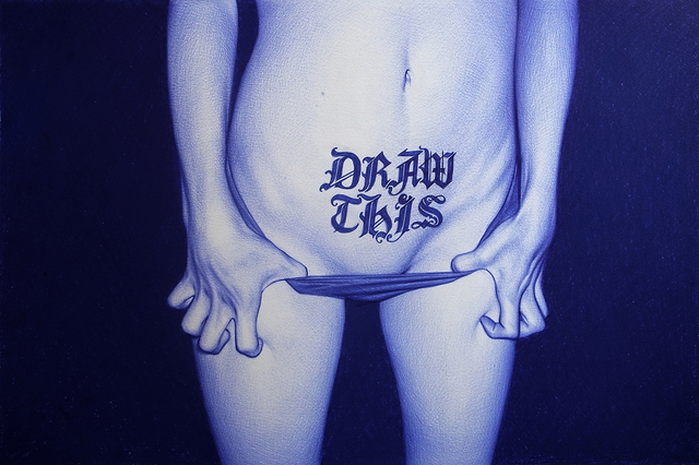 , 'Draw This,' 2014, Jonathan LeVine Projects