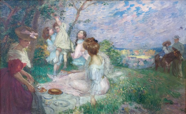 , 'The Picnic,' 1906, Anderson Galleries
