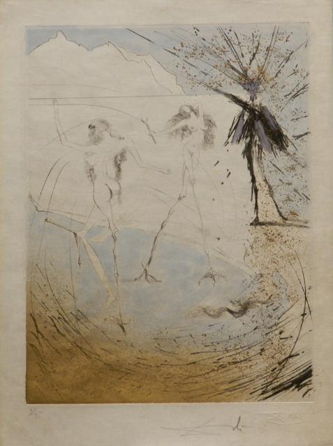 Salvador Dalí, 'Faust Femmes-Poules', 1969, Print, Etching, Fine Art Acquisitions Dali