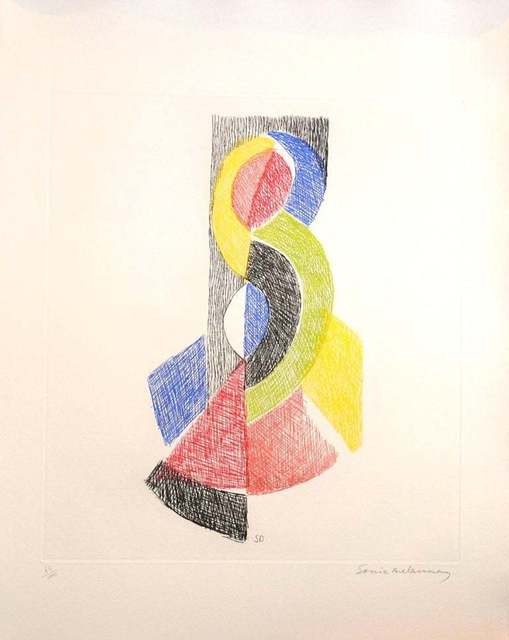 Sonia Delaunay, 'Untitled', 1966, Wallector