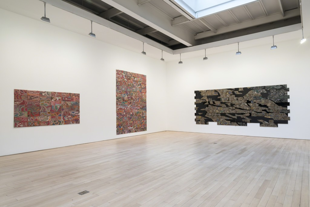 Elias Sime: Installation view 2015. Photo: Adam Reich