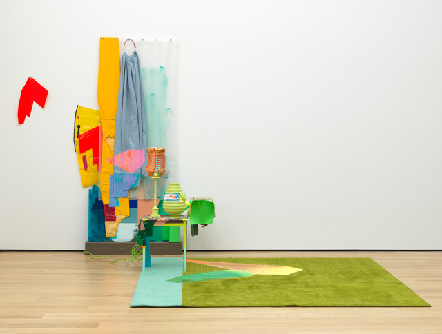 Jessica Stockholder, 'Just Sew', 2009, San Francisco Museum of Modern Art (SFMOMA)