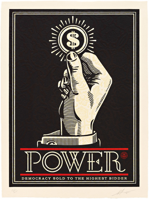 , 'Power Bidder,' 2015, Pace Prints