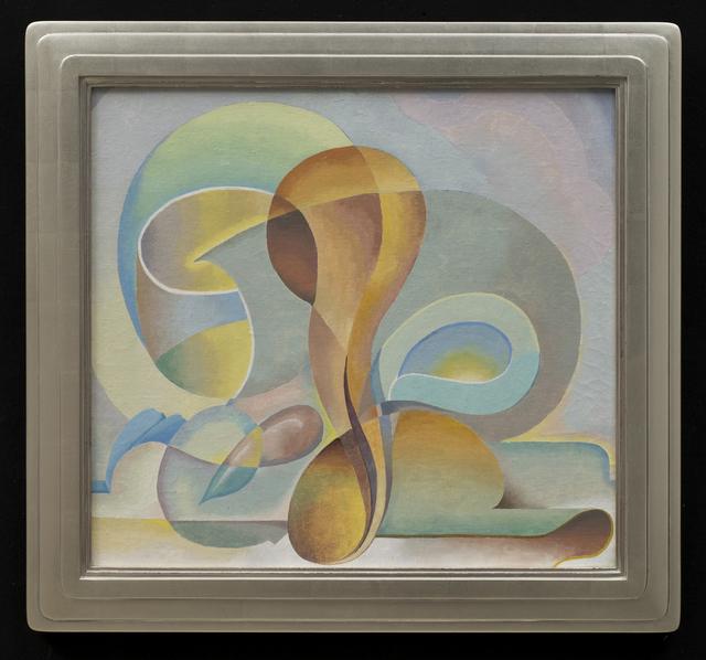 Stuart Walker, 'Movement', ca. 1938, Painting, Oil on canvas laid down on board, Aaron Payne Fine Art