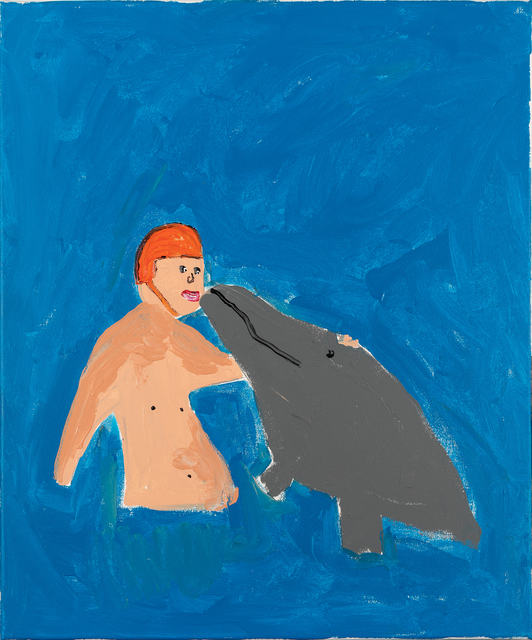 Richie Culver, 'IN THE WATER IS WHERE HE FEELS THE BEST', 2019, LEHMANN + SILVA