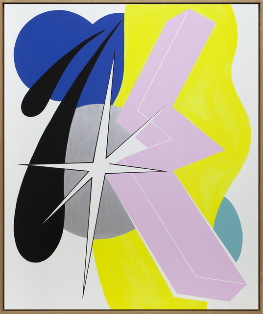Moritz Green, 'Untitled Composition 2', 2021, Painting, Acrylic on canvas, KOLLY GALLERY