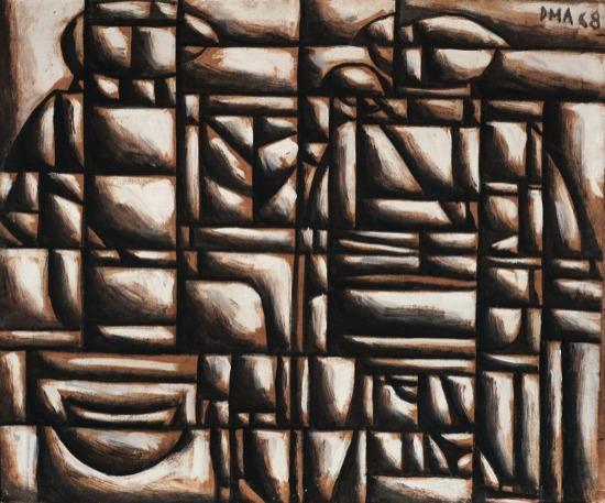 , 'Construcción disociada,' 1968, Galería de las Misiones