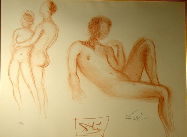 Salvador Dalí, 'Nudes Couples Nus', 1970, Fine Art Acquisitions