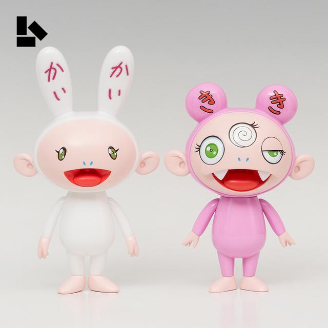 Takashi Murakami, 'Kaikai & Kiki (Set of 2)', 2018, Sculpture, Vinyl, Rite Gallery