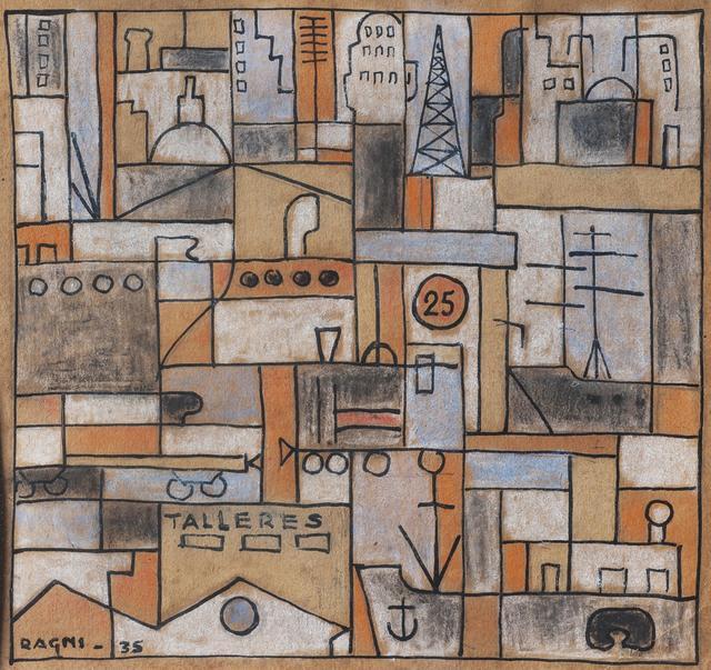 Héctor Ragni, 'Constructivo', 1935, Galería de las Misiones