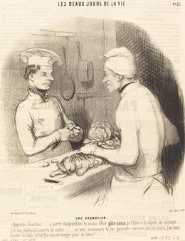 Honoré Daumier, 'Une Promotion', 1845, National Gallery of Art, Washington, D.C.