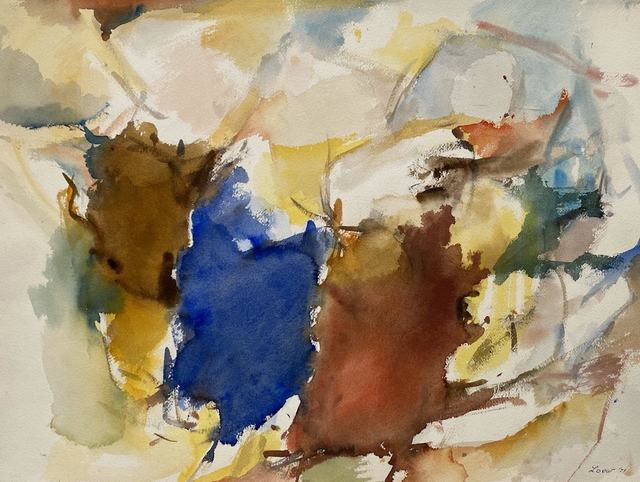 Michael Loew, 'Untitled #285', 1973, Painting, Watercolor on paper, Capsule Gallery Auction