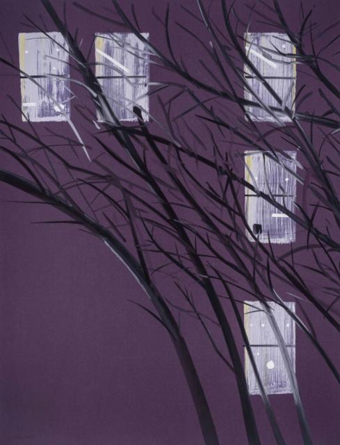 Alex Katz, 'Purple Wind', 2017, Jim Kempner Fine Art
