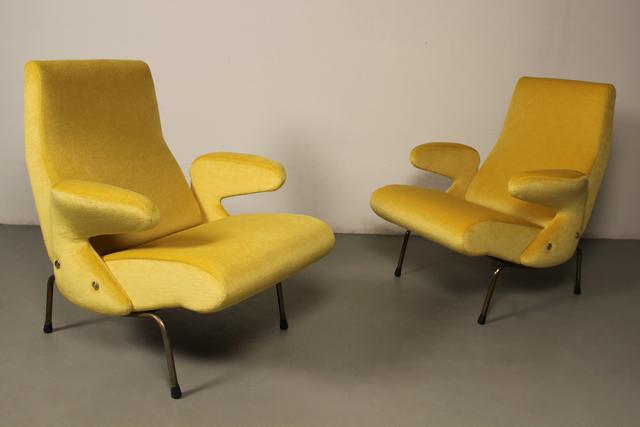 , 'Delfino armchairs,' 1954, NERO design gallery
