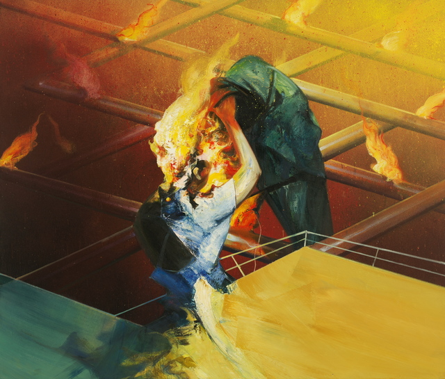 Zhou Wenzhong 周文中, 'The Unbidden Guest 不速之客', 2017, PIFO Gallery
