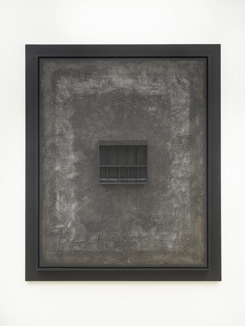 , 'Casio Black,' 2017, Lehmann Maupin