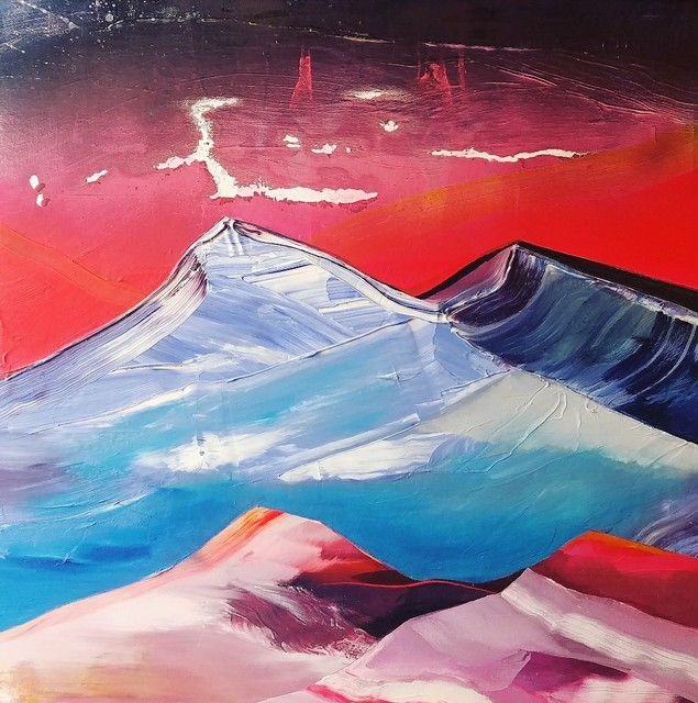 , 'Molten Lava Mountain,' , Russell Collection