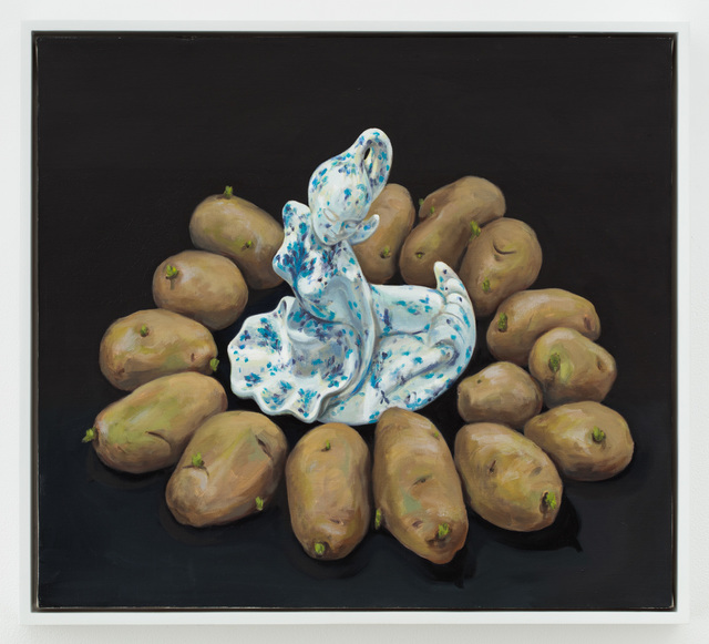, 'Mermaid Dish with Potatoes,' 2005, P.P.O.W