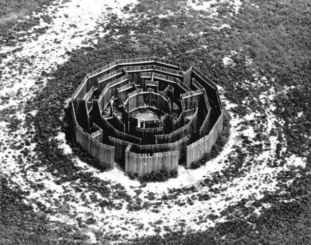 , 'Maze: Aerial View,' 1972, Galerie Thomas Schulte