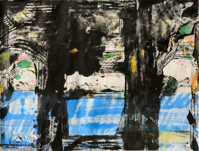 Hoe Koon Yeo, '江边;Riverside', 2013, Painting, Ink and colour on paper, Linda Gallery