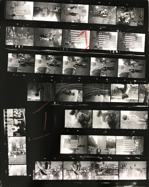 , 'Contact Sheet #17,' 2009, Danziger Gallery