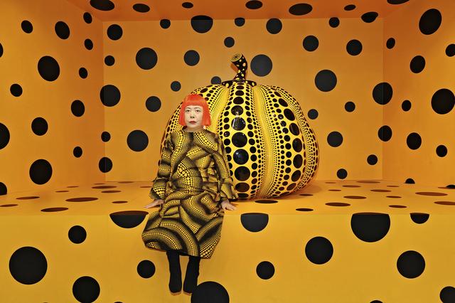 , 'Kusama with Pumpkin. Installation View: Aichi Triennale ,' 2010, Moderna Museet