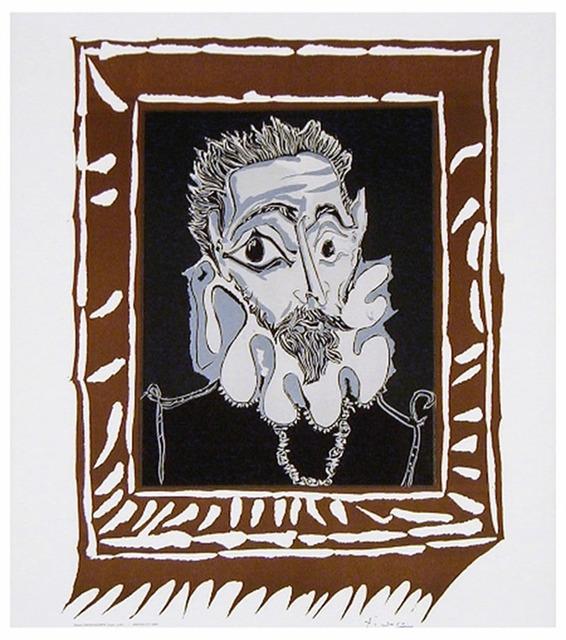Pablo Picasso, 'L'Homme à la Fraise (Man with Ruff)', 1963, michael lisi / contemporary art