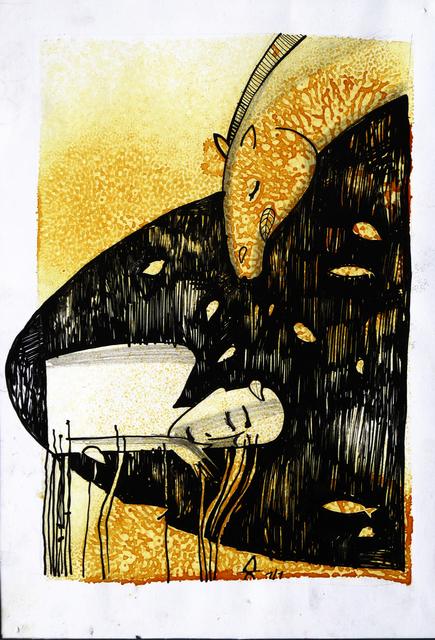 , 'Do Profundis,' 2012, MSK Eastside Gallery
