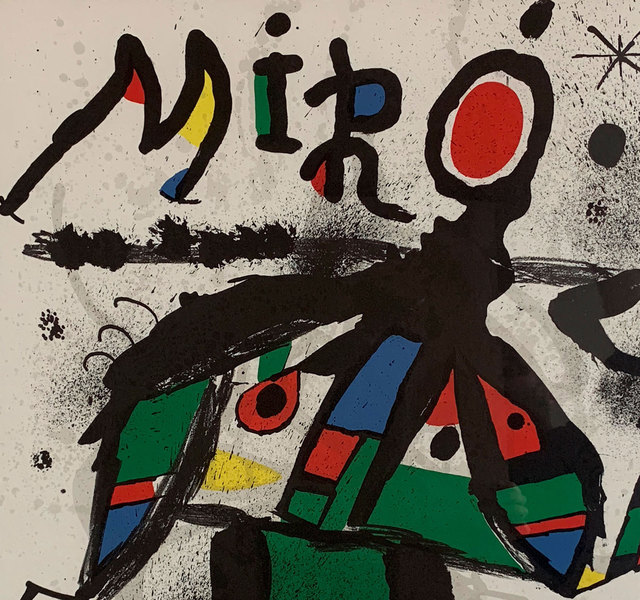 Joan Miró, 'Poster for Miro Exhibition at Galerie Maeght (m.1171)', 1979, Capsule Gallery Auction