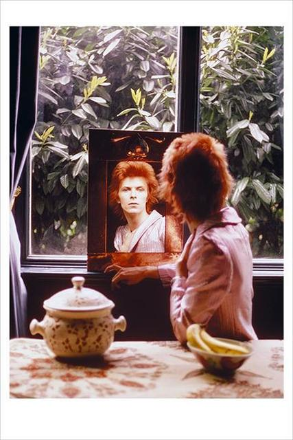 Mick Rock, 'David Bowie. Mirror Haddon Hall, Beckenham ', 1972, The Bonnier Gallery