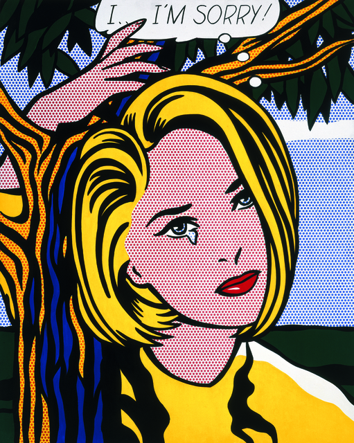 Roy Lichtenstein, 'I...I'm Sorry!', 1965-1966, The Broad