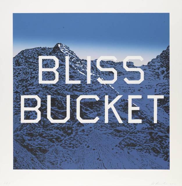 , 'Bliss Bucket ,' 2010, Maddox Gallery