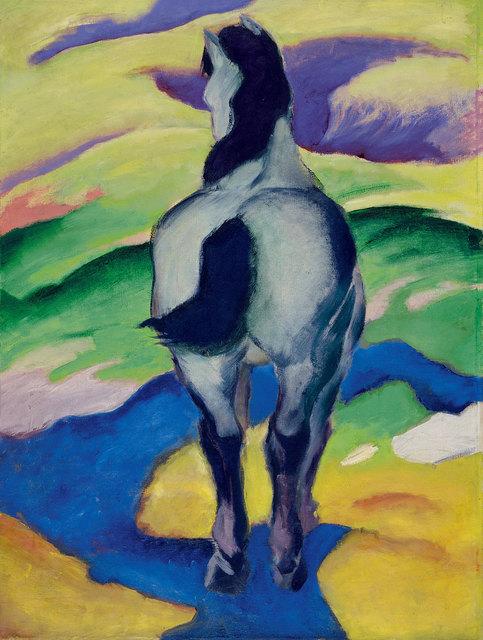 , 'Blaues Pferd (Blue Horse) II,' 1911, Kunstmuseum Bern