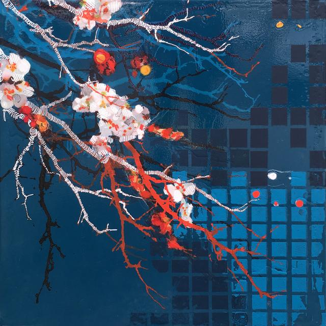 , 'Dark Blue,' 2018, Newzones