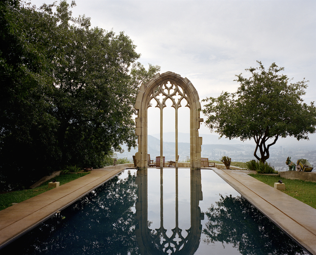 , 'Pool with Arch,' 2013, HEART EGO