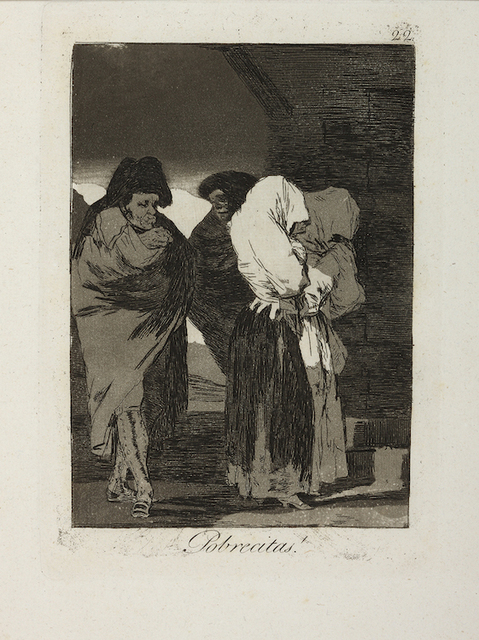 , 'Pobrecitas! [Poor little girls!],' 1799, Somerville Manning Gallery
