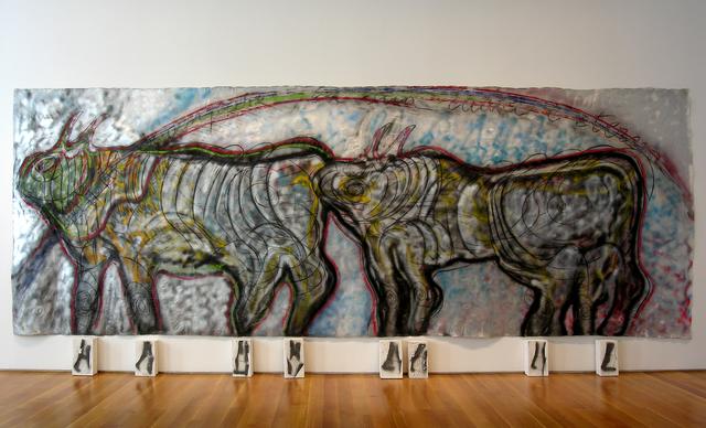 , 'Bisonti (Se la forma scompare, la sua radice è eterna),' 1982, Sperone Westwater