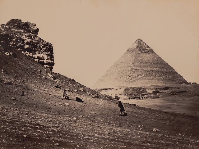 Francis Frith, 'The Second Pyramid from the Southeast', 1858, Robert Koch Gallery