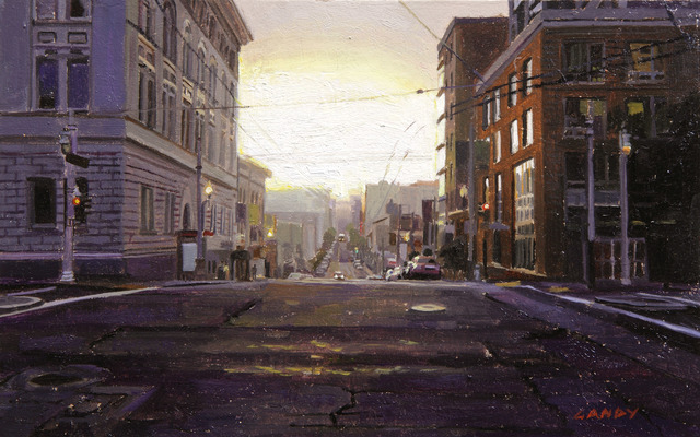 , 'Sunrise on Post and Van Ness,' 2014, Gallery 1261