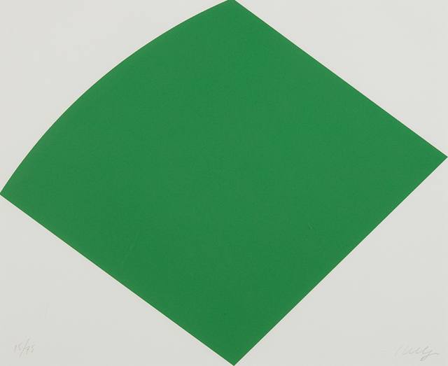 Ellsworth Kelly, 'Green Curve', 1996, Phillips