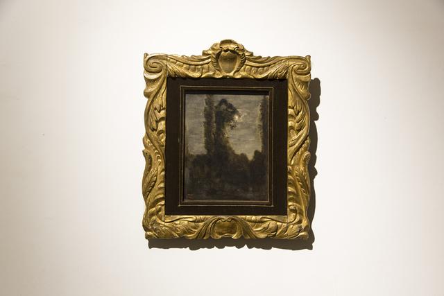 , 'Peupliers au bord de l'eau,' 1860-1865, M WOODS