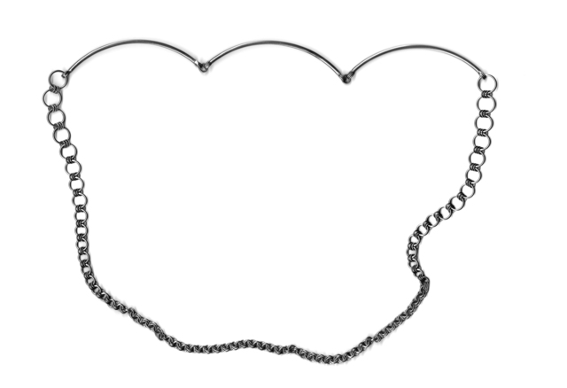 , 'Untitled Necklace (Triple Curve, Graduated Chain),' 2016, Sienna Patti Contemporary