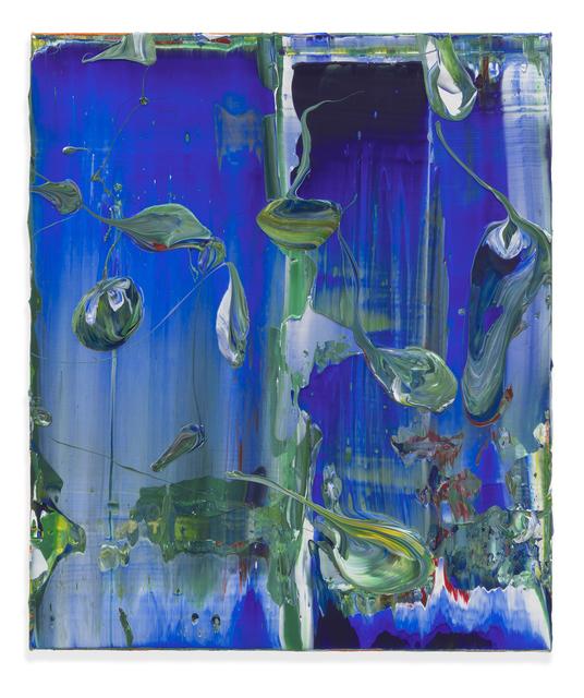 , 'Blue Baller,' 2018, Miles McEnery Gallery