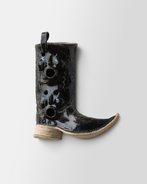 , 'Birdhouse, Cowboy Boot,' 2018, Richard Heller Gallery