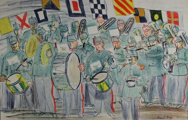 , 'The Band,' 1949, Gwen Hughes Modern British Art