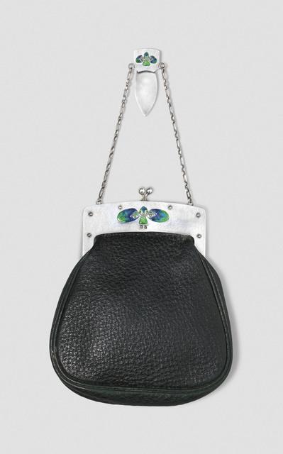 Archibald Knox, 'A rare purse', 1905, Design/Decorative Art, Silver, enamel, leather, Christie's