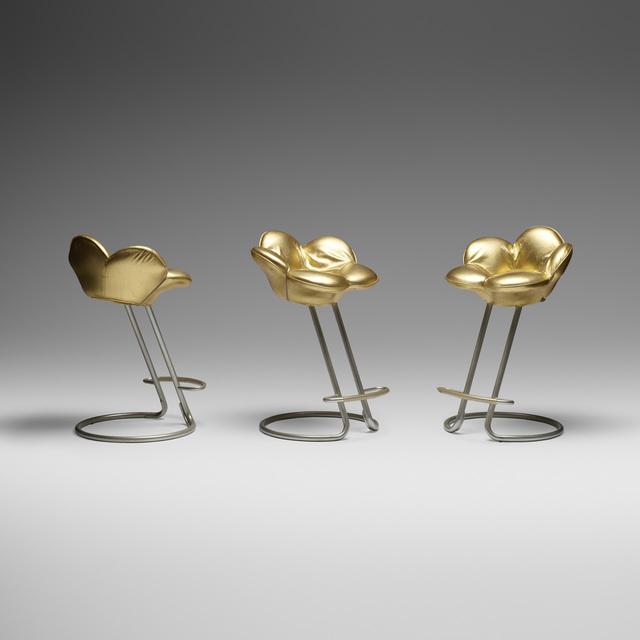 Masanori Umeda, 'Soshun stools, set of three', 1990, Wright